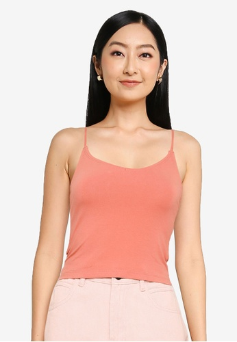 Abercrombie & Fitch pink Bare Strappy Brami Top 5AF7FAAC85E446GS_1