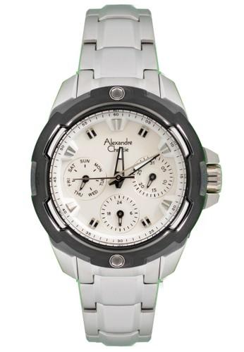 Alexandre Christie silver Alexandre Christie Jam Tangan - Silver Black White - Stainless Steel - 6305 BFBTBSL EC4CFAC671BCDFGS_1