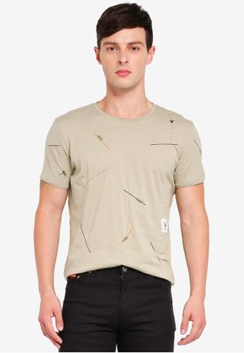 Fidelio 綠色 刺繡T恤 5599BAA29870CCGS_1