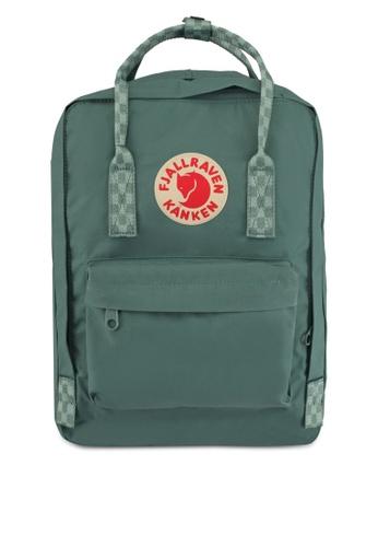 """Fjallraven Kanken green Kanken 13"""" Backpack FJ382AC0SX9UMY_1"""