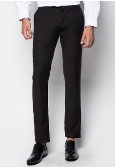 Essential Tapered Slim Dress Pants