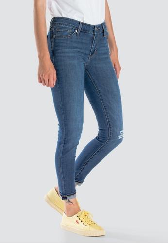 7bf141be0eb882 Levi's blue Levi's 711 Skinny Ankle Jeans Women 19558-0059  672FDAAB274CE5GS_1