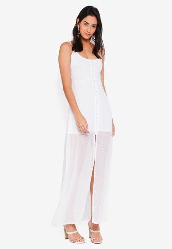 5073928794 Buy MISSGUIDED Dobby Button Down Maxi Dress Online on ZALORA Singapore