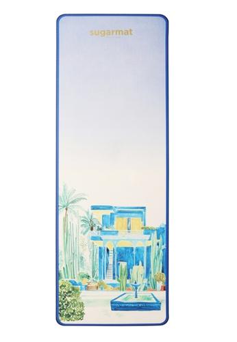 Sugarmat blue Jardin Majorelle - TPE Yoga Mat (5MM) 72F24SE31E9BE9GS_1