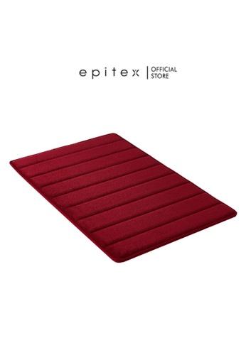 Epitex Epitex Deluxe Ultra-Absorbent Memory Foam Floor Mat (Red) D377FHL377C5ECGS_1