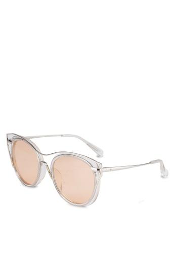 BLANC & ECLARE white Singapore Sunglasses 9C08FGL7AA7444GS_1
