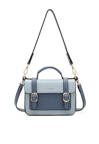 Volkswagen blue Women's Hand Bag / Top Handle Bag C6E40AC279B5CDGS_1