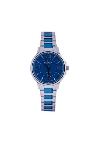 BONIA blue and silver Bonia Rosso - BR167-2183BL - Jam Tangan Wanita B972DAC850759EGS_1