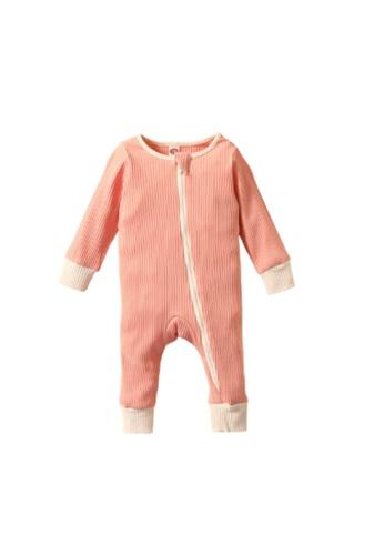 RAISING LITTLE pink Poo Romper - Pink ACC0EKA31EBAA2GS_1