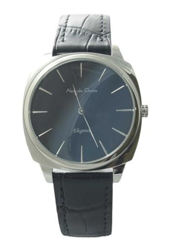 Alexandre Christie black Alexandre Christie Jam Tangan Wanita - Black Silver - Leather Strap - 8483 LHLSSBA C42D2AC1DAC3F4GS_1