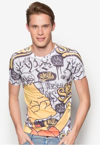 辛普森esprit 品牌家族設計TEE, 服飾, T恤