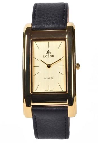 Digitec black Lobor - Jam Tangan Pria - Gold - Black Leather Strap - KS-8102SM 0A1B7AC7019468GS_1