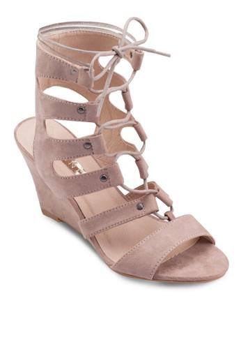 Renata 羅馬低筒楔形涼鞋, esprit台灣女鞋, 楔形涼鞋