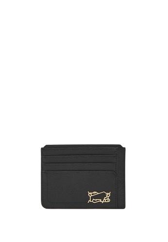 Braun Buffel black Thonet Flat Card Holder C0494ACA069DA9GS_1