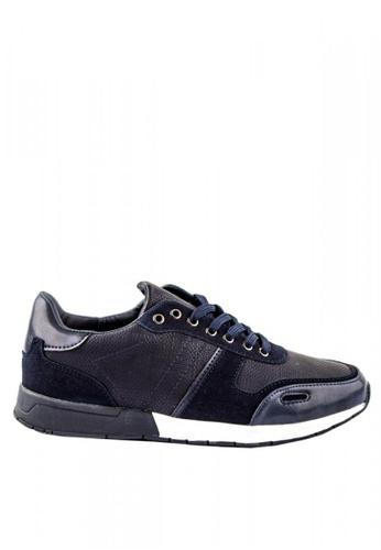 Otto blue Combination Sneakers 1A8EDSH8495E19GS_1