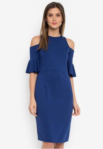 Susto The Label blue Janice Cutout Dress 8E310AA523E549GS_1