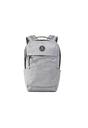 MORAL grey Nova Backpack - Snow Marl 8FBF1AC7F99CEFGS_1