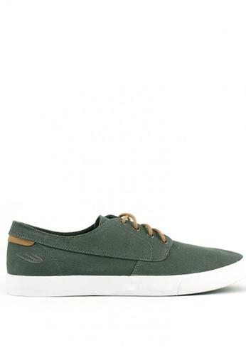 World Balance green Milford Mens Sneakers 83D64SH9158D85GS_1