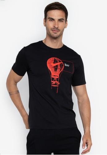 Nike black As M Nsw Tee Reissue Core 4 624B5AA8636049GS_1