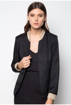 Uniform Ribbing Collection Jacket