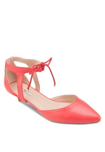 尖頭側空包跟低esprit 鞋跟鞋, 女鞋, 鞋