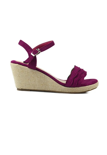 eb85eb70d2e4 Buy SHINE SHINE Strap Platform Wedges Online on ZALORA Singapore
