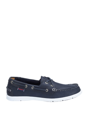 Sebago navy Litesides Two Eye Boat Shoe SE328SH64QDVPH_1