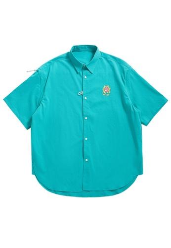 Twenty Eight Shoes Loose Printed Short Sleeve Shirt 2228S21 9C7D2AAB2B1F7FGS_1