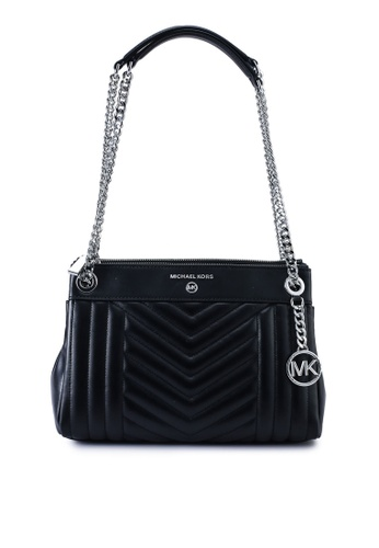 MICHAEL KORS black Susan S Shoulder Bag (zt) 50C25ACBC46CE4GS_1