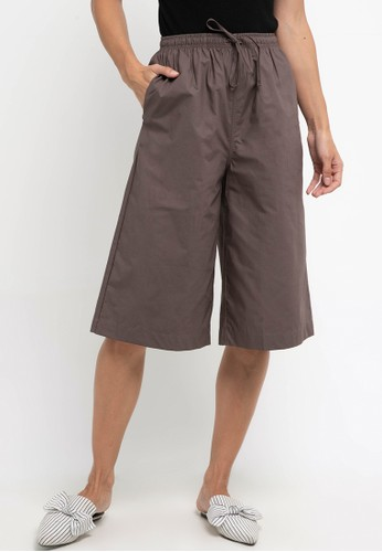 sophistix brown Hilly Lounge Short Pants A533AAA9F0415FGS_1