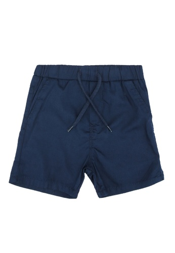 KOTON navy Casual Baby Shorts 69025KA0B3B0E9GS_1