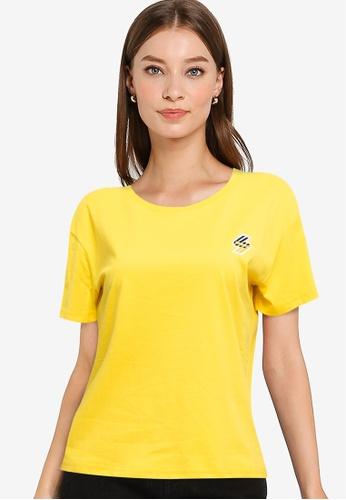 Superdry yellow Sportstyle Boxy T-Shirt - Sportstyle Code 3EBF5AAAEA2D4CGS_1