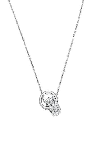 SWAROVSKI silver Further Double Pendant Necklace 4DB01ACF79E8B5GS_1