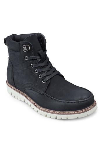 皮革短筒靴esprit outlet hk, 鞋, 靴子