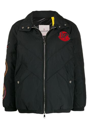 "Moncler black Moncler Genius 2 1952 ""Mino"" Down Jacket in Black 1EA00AA09910EBGS_1"