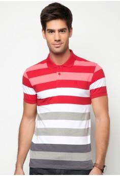 Slim Fit Stripes Polo