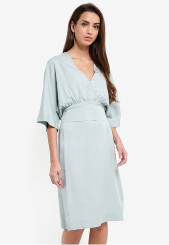 Selected Femme grey Ada 2-in-1 Dress 15285AA19F4A45GS_1