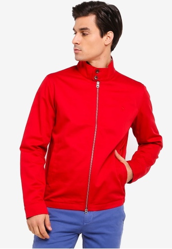 Brooks Brothers red Red Fleece Bomber Jacket 2636AAA3D2C688GS_1