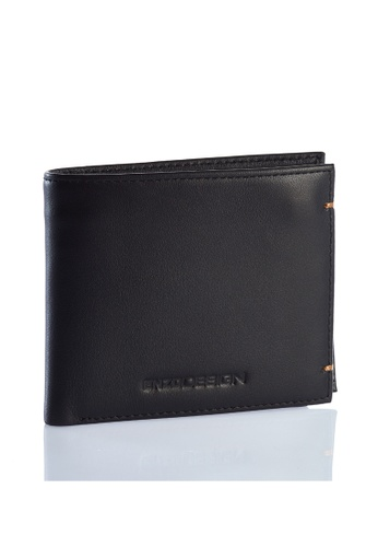 ENZODESIGN black Enzodesign Cow Nappa Leather Wallet With Coin Case CFC43AC256F205GS_1