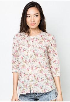 Miranda Quarter Sleeves Shirt
