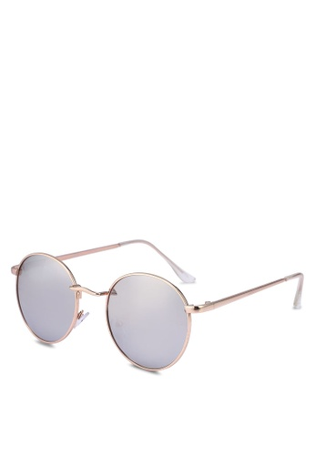 Rubi silver and gold Emmi Metal Sunglasses C1BE7GL31606C9GS_1