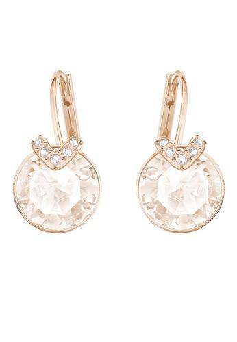 1026405fedbd76 Swarovski gold Bella V Pierced Earrings A4ACBAC307A942GS 1