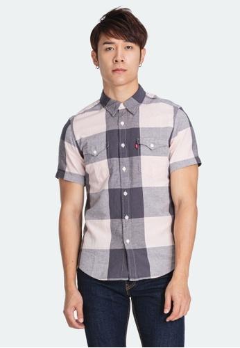 Levi's pink Levi's Short Sleeve Classic Western Shirt 86628-0002 A91BAAA75015A6GS_1