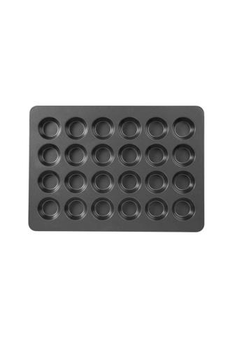 GOURDOS grey Non-Stick Bakeware Mega Muffin and Cupcake Baking Pan 24-Cup FC2DFHLACBBA32GS_1