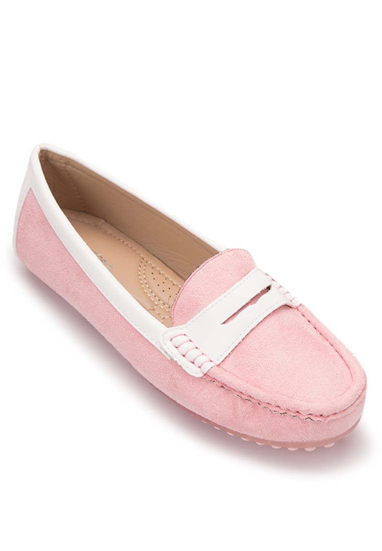 Slip On Suede Loafers