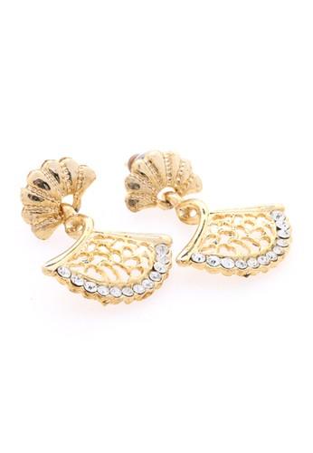 1901 Jewelry white 1901 Jewelry Fan Earring 19910AC33NWKID_1