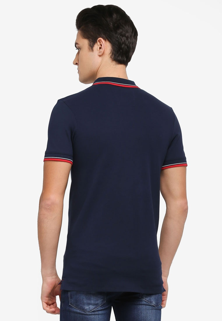 Shirt Homme Season Polo Navy Blazer Selected New qxzCOv