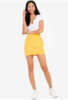 9e960d9c6 17% OFF Something Borrowed Mini Pelmet Skirt S$ 29.90 NOW S$ 24.90 Sizes XS  S M L XL