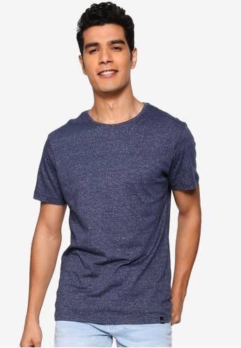 BLEND blue Basic Crew Neck T-Shirt AB1A5AA01EA36CGS_1