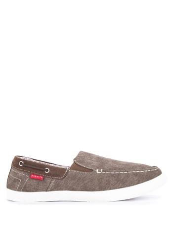 Alberto brown Men's Slip On Sneakers 55E14SHEDCB0E4GS_1